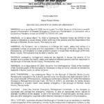 thumbnail of Mayor's 2nd disaster proclamation